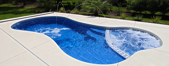 San Juan Pools - Carter Pools fiberglass swimming pools