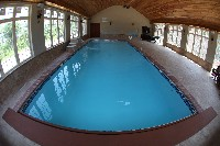 Oceanside Fiberglass Pool in Fulton, MO